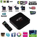 Susay(TM) MXIII Android 4.4.2 4K TV Box Amlogic S802 CPU Quad Core Octa core ARM Mali-450 GPU XBMC 2GB Ram 8GB ROM 2.4G Wifi with Remote Control