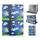 iPad Air Case,iPad Air 1 Generation Case-Fly Owl Magnetic Smart PU Leather Stand Flip Case with Auto Sleep/Wake Function For Apple iPad Air 1 iPad 5 Generation Retina 2013 NEWEST(Gift Packaging Include:1x Clear LCD Screen Screen Skin Protector/1x Touch Stylus Pen/1x Clean Cloth)[USPS Fast Shipping in 24h]