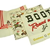 Western Round up Theme Dish Towels By Moda, Set of 3