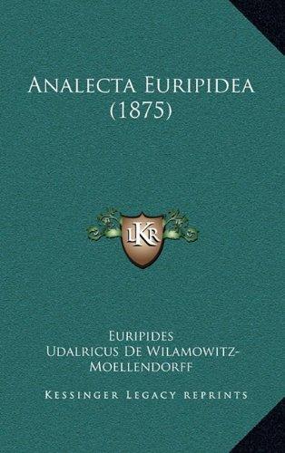 Analecta Euripidea (1875)
