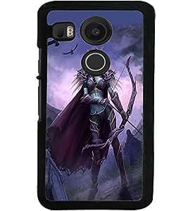 ColourCraft Demon Design Back Case Cover for LG GOOGLE NEXUS 5X