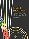 Piano Concerto No. 1 in D-flat Major, Op. 10, in Full Score (0486438112) by Prokofiev, Sergei