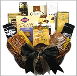 Delight Expressions™ with Deepest Sympathy Gourmet Food Gift Basket