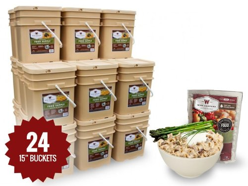 Long Term Food Storage - 2880 Servings - 12 Month Supply - Entrees & Breakfast + Stove & Survival