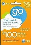 AT&T Prepaid 0 Refill Card