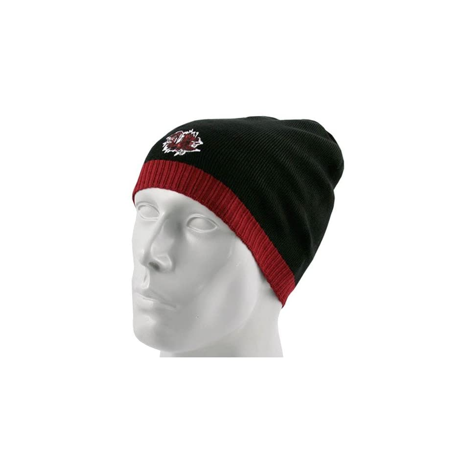 Top of the World South Carolina Gamecocks Black Ice Knit Beanie Cap
