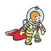 ノーブランド品 おさるのジョージ ひとまねこざる キャラクター ワッペン 黄色
