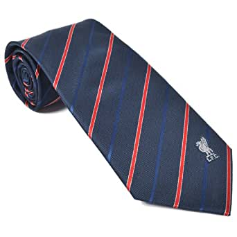 Liverpool FC Official Football Gift Navy & Red Striped Tie (RRP £14.99!)