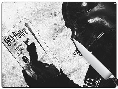 Star Wars Darth Vader Harry Potter Standard Cutting Board