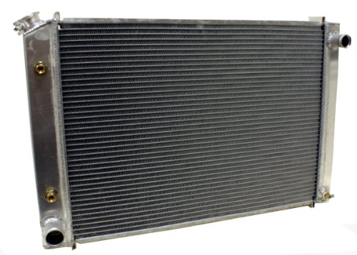 CFR 1979-93 Ford 5.0l 302 Direct Fit Aluminum Radiator w/ At Cooler - Direct Replacement