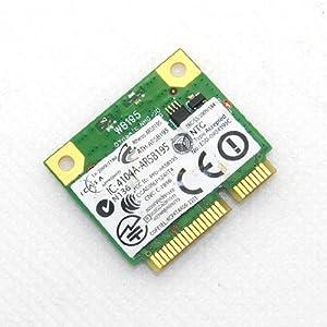 Dell Dw1702 Atheros Ar5b195 Wireless Wifi N Bluetooth Bt 3.0 Mini Pci-e Card with Pci-e Half Size to Full Size Adapter 150 Mbps Bluetooth 2.1 + EDR and Bluetooth 3.0 + HS