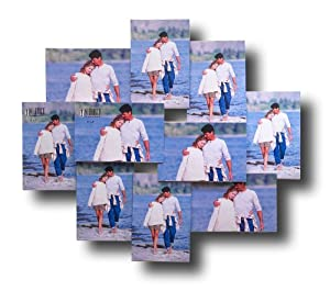 Amazon Com Melannco 10 Opening Acrylic Collage Frame