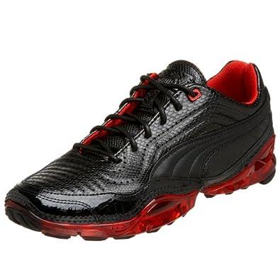 Amazon.com: PUMA Men's Cell Meio L Sneaker,Black/Puma Red