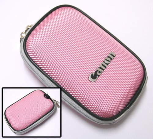 Camera Case (PINK) For Canon IXUS 75/70/65/55/50/40/I5/I/SD450
