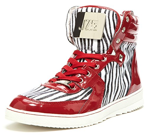 J75 by JUMP Men's Fearless High-Top,Zebra,8 D US (Zebra High Tops compare prices)