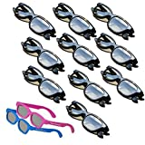 OFFICIAL Adult 3D Glasses Kit for LG 3D Televisions - 10 Pairs PLUS 2 PREMIUM 3DHEAVEN KIDS SIZED PAIRS!