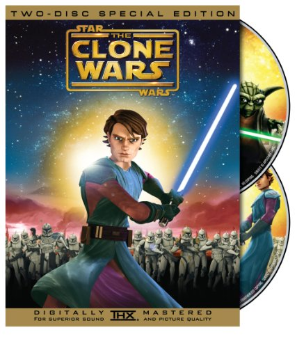 Cover art for  Star Wars: The Clone Wars (Two-Disc Special Edition)