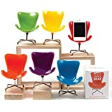 Retro Chair Cell Phone Stand (orange)