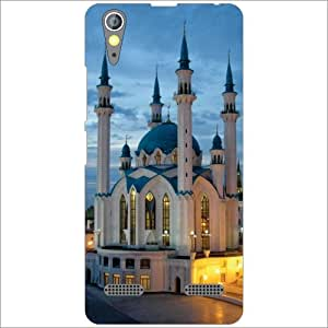Lenovo A6000 Back Cover - Silicon Mosque Designer Cases