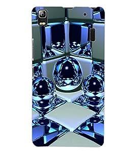 ColourCraft Digital Design Back Case Cover for LENOVO A7000 PLUS