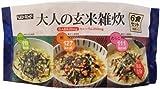 ヘルシーキューピー 大人の玄米雑炊 6食セット
