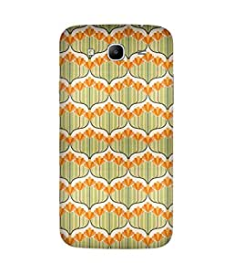 Yellow Garden Samsung Galaxy Mega 5.8 Case