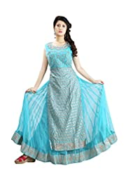 Sharmili Womens Net & Georgette Fabric Anarkali Salwar Suit