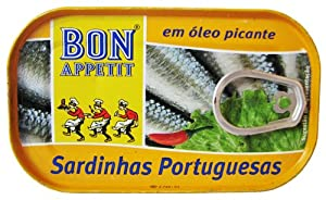 Bon Appetit Portuguese Sardines In Spicy Chili Oil 120 Gram Tin from Bon Appetit