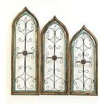 Architectural Gothic Windows Turquoise Set 3