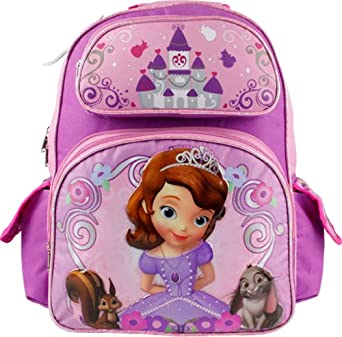Backpack - Disney - Sofia the First - Little Princess (Large School