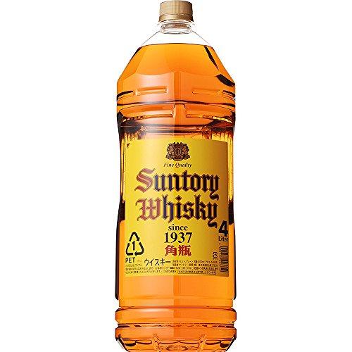 サントリー ウイスキー 角瓶 4000ml