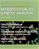 img - for Introduction to Genetic Analysis Solutions MegaManual & Interactive Genetics CD-ROM 8th edition by Fixsen, William, Lavett, Diane K., Johnson, Lianna, Merriam, (2004) Paperback book / textbook / text book