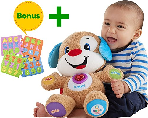 Fisher Price Laugh & Learn Smart Stages Puppy | Babies Toys Learn Smart Stages | Educational toys for toddlers, Infants | With A Humble Bundle (Plush Body Parts compare prices)