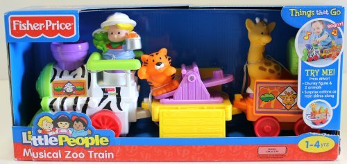 Fisher-Price Little People Musical Zoo Train - 1