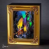 Olszewski Disney Gallery of Light Sleeping Beauty Prince Philip and Maleficient