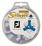 CHAMP(チャンプ) ゴルフシューズ靴鋲 スティンガー3 FJ(フットジョイ) (T-LOK)(ティーロック) 18P  S-76 青/白