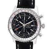 [ブライトリング]BREITLING 腕時計 ナビタイマーワールド [純正新品革ベルト]自動巻き A24322 メンズ 中古