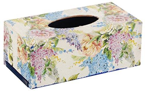Maruti Handicrafts Wooden Tissue Paper Holder (24 cm x 12 cm x 9 cm, MaruthiHandicrafts006)