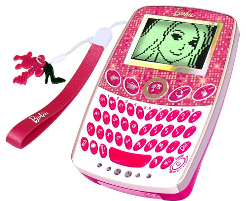 Barbie mobile phone toy pocket learner electronic handheld - Telephone barbie ...