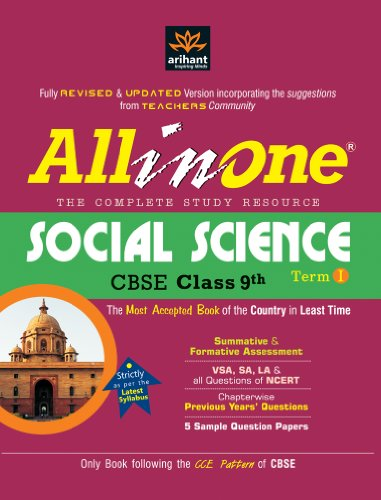 CBSE All in One Social Science Class 9th (Term-I)