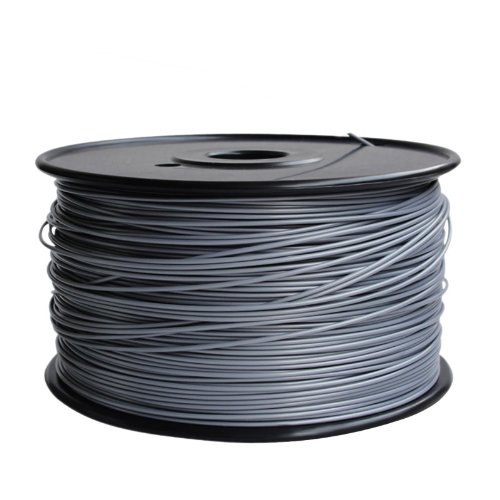 WmicroUK Repraper High Quality Professional 3D Printing Material 400m ABS 1.75mm 3D Printer Filament Bundle for RepRap (Silver)