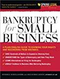 img - for Bankruptcy for Small Business (Legal Survival Guides) book / textbook / text book