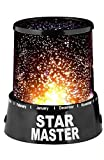 #4: Sterling Romantic LED Cosmos Star Master Sky Starry Night Projector Bed Light Lamp