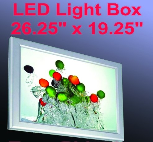 A2 LED Slim Aluminum Frame Light Box 26.5