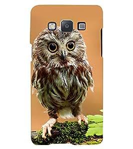 Printvisa Premium Back Cover Owl On A Tree Branch Design For Samsung Galaxy A7::Samsung Galaxy A7 A700F