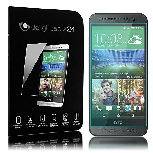 delightable24 Pellicola Protettiva Vetro Temprato Glass Screen Protector Smartphone HTC ONE E8 - Transparente