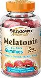 Sundown Naturals Melatonin Gummies, 60 Count