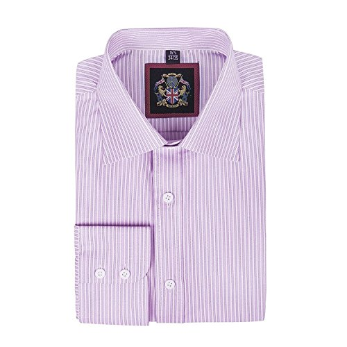 janeo-british-apparel-branded-classic-windsor-fine-stripe-mens-shirt-single-cuff-sleeve-pink-size-19