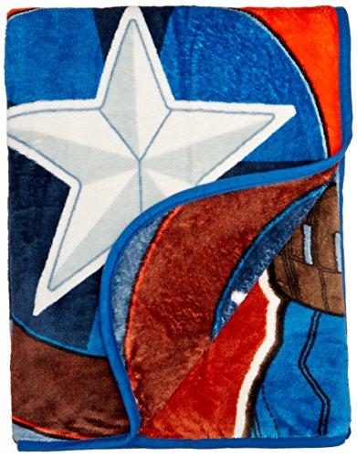 Marvel Captain America-2 Winter Soldier Fleece Throw front-1028683