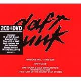 Daft Punk Musique Vol.1 1993-2005 : Greatest Hits / Daft Club / Interstella 5555 (Coffret 2 CD + 1 DVD)